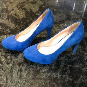 Blue Franco Sarto heels